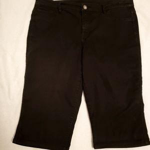 Style&Co Black Shorts Size 12